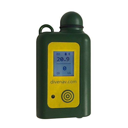 cootwo: CO and O2 Dual-Gas SMART Analyzer for Scuba Diving - includes Oxygen and Carbon Monoxide sensor. Can be controlled with a smartphone or tablet