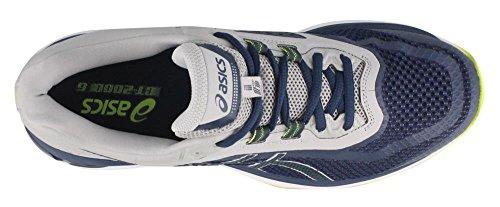 Asics Gt-2000 6 Hommes Running Bleu Foncé / Bleu Foncé / Gris Moyen