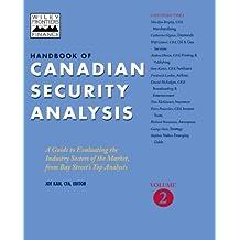 Handbook of Canadian Security Analysis, Volume 2