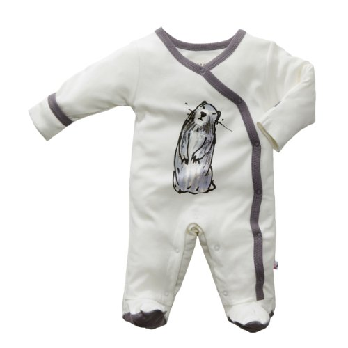 Babysoy Baby girls JB Footie product image