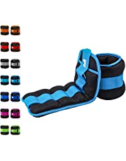REEHUT Ankle Weight, Durable Wrist Weight 1 Pair Adjustable Strap for Fitness, Exercise, Walking, Jogging, Gymnastics, Aerobics, Gym