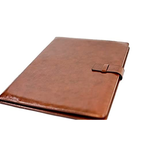 85%OFF Professional Leather Business Resume Portfolio Folder / Interview  Padfolio With Refillable Letter Size  Resume Portfolio Folder