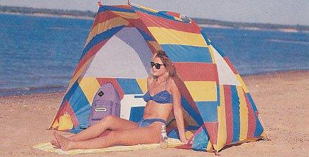 (Texsport Flame Retardant Nylon Cabana Beach Tent
