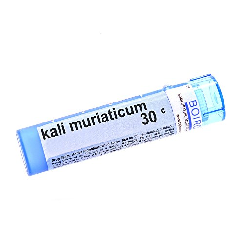 Boiron, Kali Muriaticum 30C Multi Dose Tube, 80 Count ()