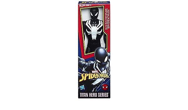 Amazon.com: collector Spider-Man Web Warriors - Black Suit ...