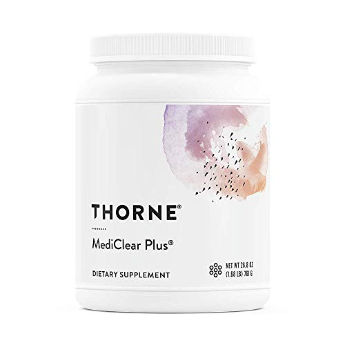 Thorne Research - MediClear Plus - Detox, Cleanse, and Weight Management Support - Rice and Pea Protein-Based Drink Powder with a Complete Multivitamin-Mineral Profile - 26.8 oz.