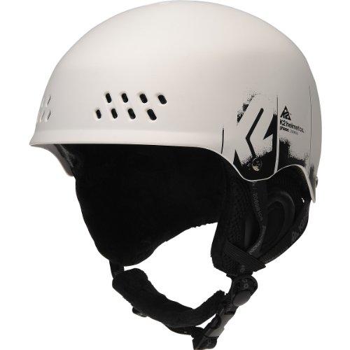 K2 Phase Helmet (White, Medium), Outdoor Stuffs