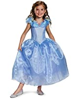 Disguise Cinderella Movie Deluxe Costume, Small (4-6x)