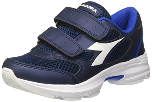 Diadora Shape 7 V Jr, chaussures de course mixte enfant - Multicolore, 28 EU