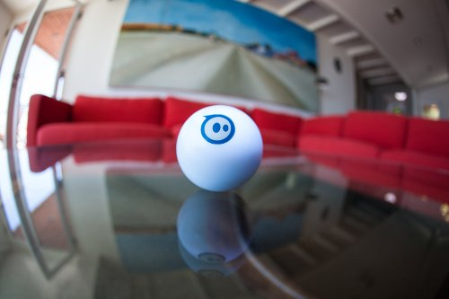 Sphero iOS and Android App Controlled Robotic Ball - Retail Packaging - White (Discontinued by Manufacturer) by Sphero (Image #1)