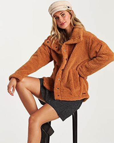 Billabong Women's Cozy Days Jacket, Carmel, M by Billabong