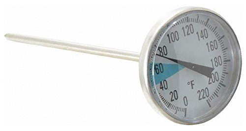 Automotive Dial Thermometer, 1-3/4