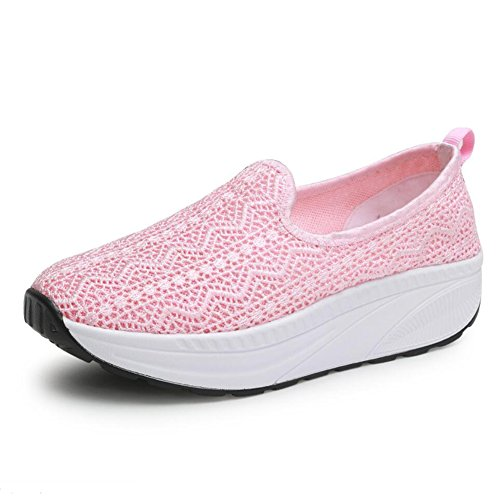 Athletic Spring A Fitness Size Shoes Shake Shoes Women's Shaking Shoes C Canvas Shoes Driving Shoes 35 Sneakers Fall amp; Ons XUE Loafers Loafers Color Slip Shoes Platform Shake Shoes Flat wtFqP1