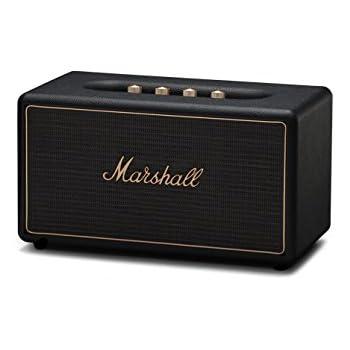 Marshall 04091903 Stanmore Wireless Multi-Room Bluetooth Speaker Black