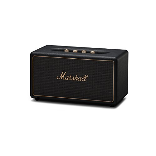 Marshall 04091903 Stanmore Wireless Multi-Room Bluetooth Speaker Black