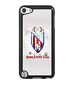 Atletico de Madrid IPod Touch 5th Funda Case Famous Football Team Simple Logo Pattern Personalized Classy Cute Pattern Some Colour Back Cover Special Stylish For Girls