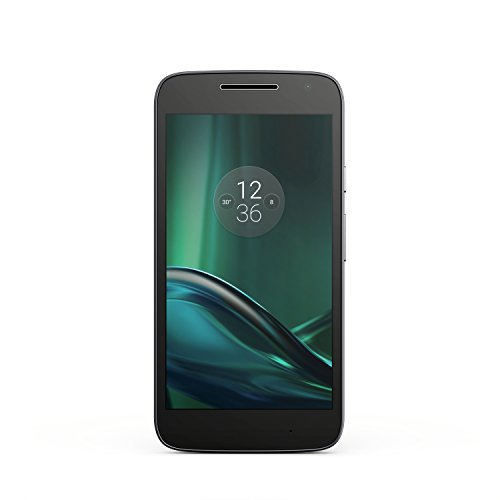 Moto G Play (4th gen.) - Black - 16 GB - Unlocked by Motorola