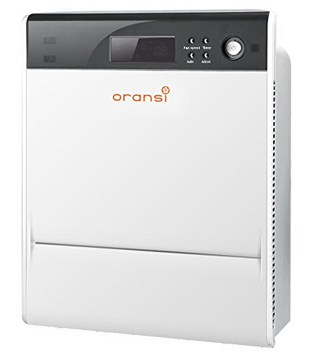 Oransi Max HEPA Large Room Air Purifier for Asthma Mold, Dust and Allergies (Wake Up With Stuffy Nose And Headache)