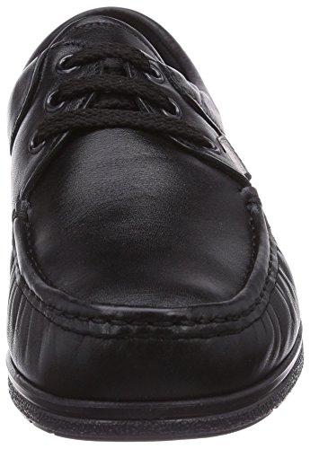Fischer Dames Comfortabele Schoenen Dames Mocassin Zwart (black 222)