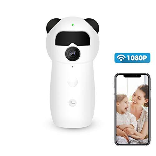 Cámara de Vigilancia HD 1080P cámara de seguridad inalámbrica Monitor de Bebé Inalámbrico camara IP wifi Interior...