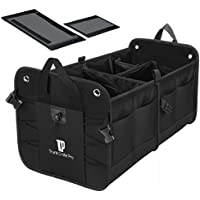 Trunkcratepro Collapsible Portable Multi Compartments Trunk Organizer