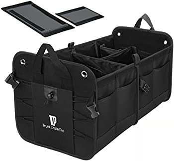Trunkcratepro Collapsible Multi Compartments Trunk Organizer