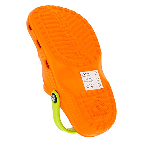 Grün 2 Surf Orange Zoccoli M211orgn Bambini gX8x4Hq
