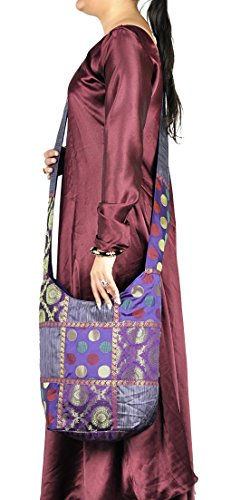 Designer Mode Jacquard soie Conception Dames Boho sac à main