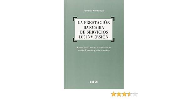 Prestación bancaria de servicios de inversión,La: Amazon.es ...