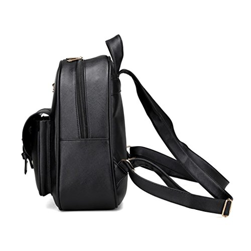 recorrido Negro sistemas del la Negro bolso de del muchacha la bolso de de escuela por 4 hombro Morwind morral de B0qvwxHZ