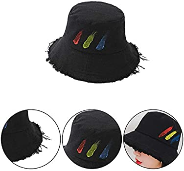 Joyfeel Buy Sombrero de Sol para Mujer Sombrero de Sol sin Borde Sombrero de sombrilla Sombrero de Playa de Verano Sombrero de Pescador Pintado Sombrero de sombrilla: Amazon.es: Ropa y accesorios