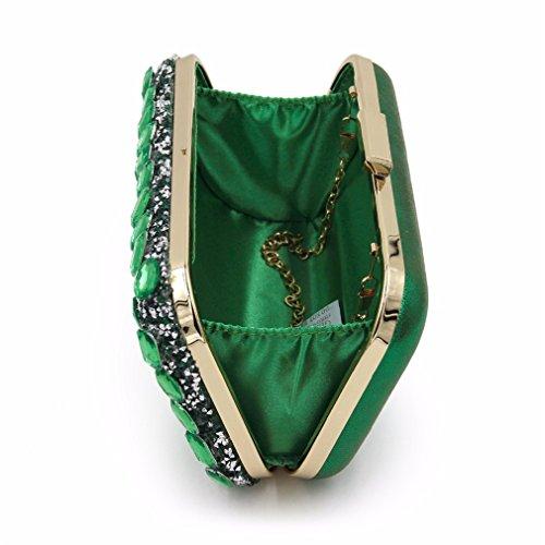 Orange Tarseñoras Bag Purse Clutch Women Kaoling Clutches Golden Female Purses Handbags Wedding Black Clutch dqgPT1
