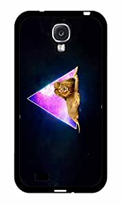 linJUN FENGFox Fur Nebula Pyramids and Lions TPU RUBBER SILICONE Phone Case Back Cover Samsung Galaxy S4 I9500