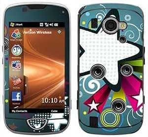 Retro Stars Skin for Samsung Omnia II 2 i920 Phone