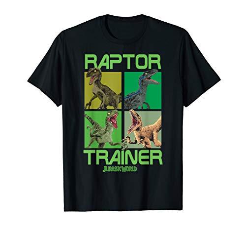 Worlds Best Trainer - Jurassic World Raptor Trainer Dino Boxes Graphic T-Shirt
