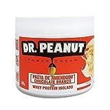 Pasta de Amendoim Chocolate Branco com Whey (500g) - Dr. Peanut