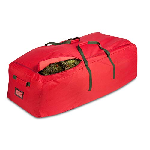 Honey-Can-Do SFT-02316 Canvas Artificial Tree Rolling Storage Bag, Extra Large