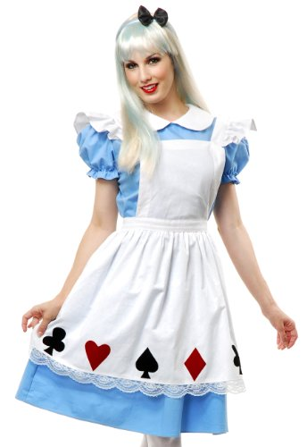 Storybook Alice Adult Costume - (Storybook Alice Adult Costumes)