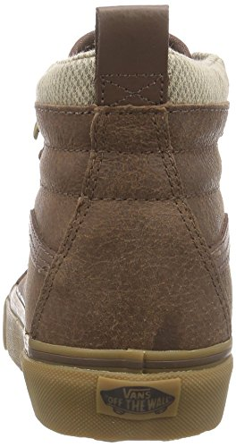 Vans Men Sk8-hi Mte Fashion Shoes (7.5 D (m) Us Men, Brown / A Spina Di Pesce)