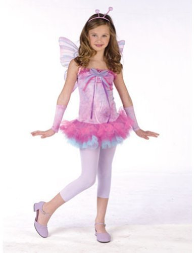 [Fluttery Butterfly Teen 0-9 Costume Item - Funworld] (9 To 5 Costumes)
