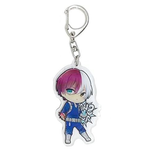 Funky Store My Hero Academia Anime(Boku no Hero Academia) Manga Acrylic Keychain Izuku Midoriya,Katsuki Bakugo,Shoto Todoroki (Key-Shoto Todoroki(2)) (Best Anime Merchandise Store)