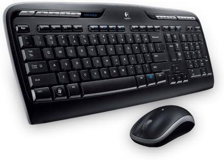 Logitech MK330 Combo Teclado y Ratón Inalámbrico para Windows, 2.4 GHz con Receptor USB Unifying, Ratón Inalámbrico Portátil, Teclas Multimedia, PC/Portátil, Disposición Greca, Negro: Logitech: Amazon.es: Informática