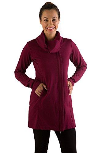 slj513-extra-large-berry-bamboodreams-sydney-long-jacket-organic-cotton-bamboo-spandex
