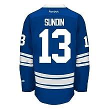 Mats Sundin Toronto Maple Leafs Reebok Premier Third Jersey NHL Replica