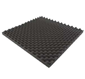 Espuma de relleno para aislamiento acústico (50 x 50 x 3 cm)