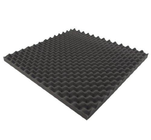 Noppenschaumstoff,Akustik Schaumstoff, Akustikschaumstoff, Dämmung, 50cm x 50cm x 3cm