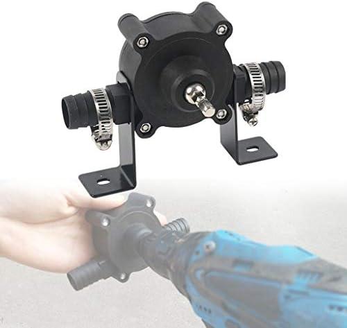 SU/&YU Air Pump,Electric Drill Drive Pump Oil Water Fluid Miniature Self Priming Transfer Pump