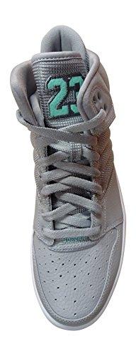 Nike Mens Jordan 1 Flight 4 Premium Sneaker Lupo Grigio Turchese Bianco 031