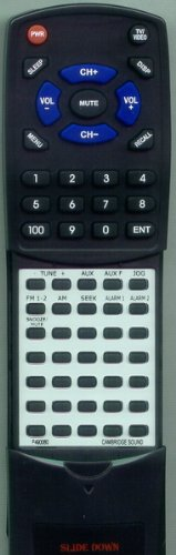 CAMBRIDGE SOUNDWORKS Replacement Remote Control for P490060
