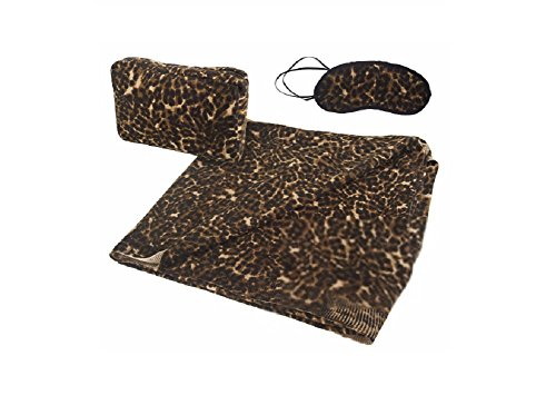 Dennis Basso Leopard Travel Pack with Case from Dennis Basso